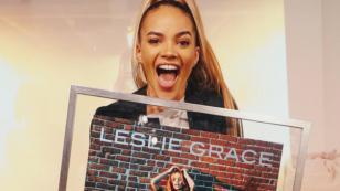 Leslie Grace obtuvo doble Disco Platino en España por 'Duro y suave'