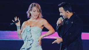 Leslie Shaw agradece a Luis Fonsi por invitarla a su show en la inauguración de Lima 2019