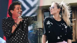 ¿Leslie Shaw cantará junto a Carlos Vives?