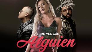 """Leslie Shaw se une a Kapla y Miky para  """"Si Me Ves con Alguien"""" (Remix)"""