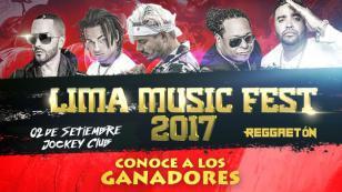 ¡Estos son los ganadores de las entradas para el Lima Music Fest!