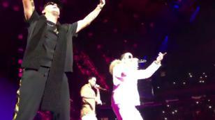 Los invitados de lujo que ha tenido Romeo Santos en sus primeras fechas del Golden Tour [FOTOS Y VIDEOS]