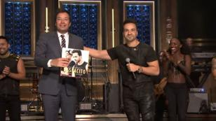 Luis Fonsi cantó 'Despacito' en 'The Tonight Show' con Jimmy Fallon [VIDEO]