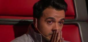 ¡Luis Fonsi lloró en plena presentación de 'The Voice'! ¿El motivo?