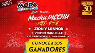 ¡Salieron los ganadores del Machu Picchu All Fest con Zion & Lennox y Víctor Manuelle!