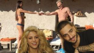 ¡Maluma y Shakira pusieron a bailar a millonario italiano! [VIDEO]