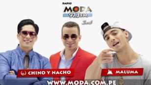 ¡Maluma y Chino & Nacho la tienen clara con MODA!