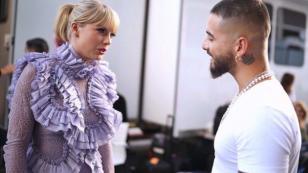 Maluma conoció a Taylor Swift y se especula una nueva colaboración