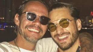 Maluma dedica emotivo mensaje a Marc Anthony
