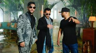 La increíble reacción de Maluma al escuchar a Marc Anthony cantar 'Felices los 4' [VIDEO]