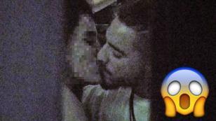 ¡Maluma fue ampayado besándose con esta actriz mexicana!