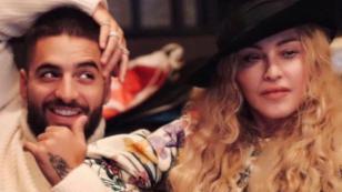 Maluma revela lo que sintió cuando conoció a Madonna