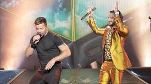Maluma, Ricky Martin y Prince Royce estuvieron juntos en concierto