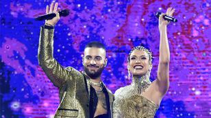 Maluma y Jennifer Lopez interpretaron 'No me ames' frente a miles de personas