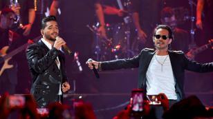 Maluma y Marc Anthony cantan 'Felices los 4' en los Premios Juventud 2017 [VIDEO]