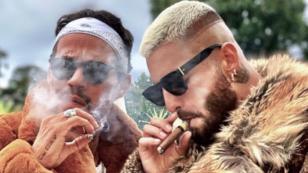 Maluma y Marc Anthony protagonizan comentado video en redes sociales