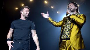 Maluma y Ricky Martin ya preparan el videoclip de 'No se me quita'