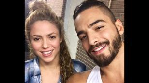 Maluma y Shakira mostraron avances del videoclip de 'Clandestino'