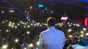 Mike Bahía, sorprendido con recibimiento del público peruano [VIDEO]