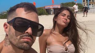Mike Bahía y Greeicy disfrutan de sus vacaciones en Cartagena
