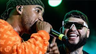 Mira a Don Omar y Farruko cantar en vivo 'Delincuente'