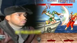 ¡Mira a Romeo Santos jugando 'Street Fighter'! [VIDEO]