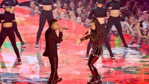 MTV Video Music Awards: Ozuna y Rosalía cantaron en vivo por primera vez 'Yo x ti, tú x mí'