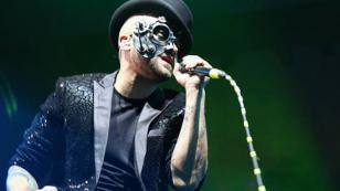 Nacho recibió quíntuple disco platino en España por su tema 'Báilame'