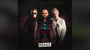 Nacho estrenó el remix de 'No te vas' junto a Wisin y Noriel [VIDEO]