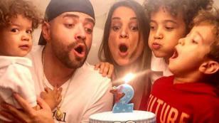 Nacho festejó con tierno video el cumpleaños de su hijo Matías