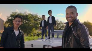 ¡Salió el tema de Nacho Mendoza junto a sus hijos y con video incluido!