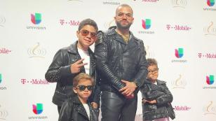 Nacho pasó un divertido momento en familia junto a sus hijos