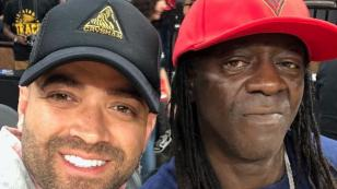 Nacho se reunió con el popular cantante Flavor Flav