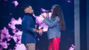 Nacho y Greeicy presentaron 'Destino' en 'La Voz Kids' de Colombia