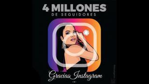 Natti Natasha celebró los 4 millones de seguidores en Instagram