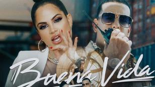 Natti Natasha y Daddy Yankee se dan 'Buena vida' en nuevo video