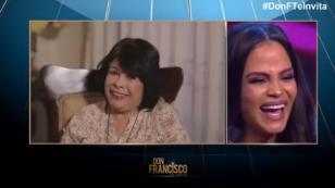 Natti Natasha, emocionada hasta las lágrimas al ver a su madre en televisión