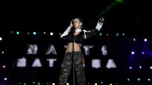 Natti Natasha enloqueció a sus fans bailando bachata durante un concierto [VIDEO]