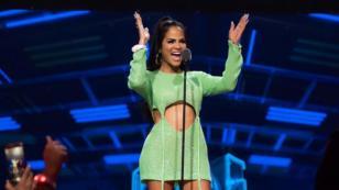 Natti Natasha y Daddy Yankee sorprenden al cantar el remix de 'Dura' en vivo