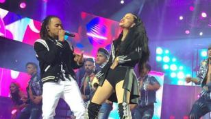 Natti Natasha y Ozuna cantaron 'Criminal' en los Premios Soberano