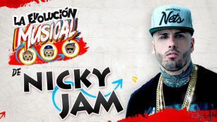 ¡Nicky Jam y su evolución musical en un video!