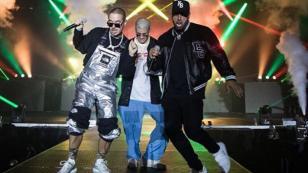 Nicky Jam, J Balvin y Bad Bunny bailaron al ritmo de 'X' (Equis)