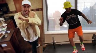 J Balvin y Nicky Jam te enseñan a bailar su nuevo tema 'X (Equis)'