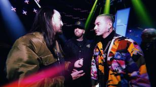 Nicky Jam, J Balvin, Karol G y otros artistas llegaron a Estados Unidos para los Latin Grammy 2018