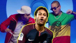 Neymar Jr. se sumó al 'X Challenge' de J Balvin y Nicky Jam
