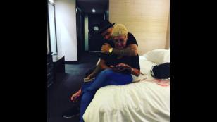 Nicky Jam, J Balvin y Farruko compartieron estas fotos por el 'Día de la Madre'