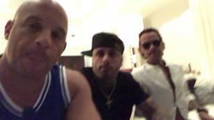 ¡Nicky Jam, Marc Anthony y Vin Diesel le hicieron esta invitación a sus fans! [VIDEO]