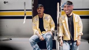 ¿Nicky Jam está en problemas por mostrar rostro de J Balvin en clausura del Mundial?