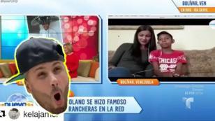 Nicky Jam cumple el sueño del talentoso niño venezolano