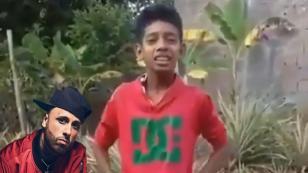 Niño venezolano sorprendió con su talento a Nicky Jam
